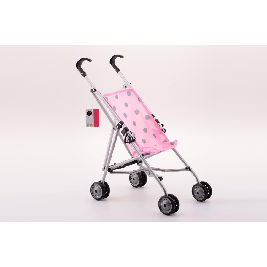 JOHNTOY Baby Rose Puppenwagen