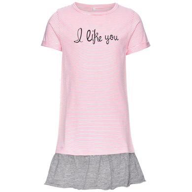 name it Girls Kleid Jump flamingo pink rosa pink Gr.80 Mädchen