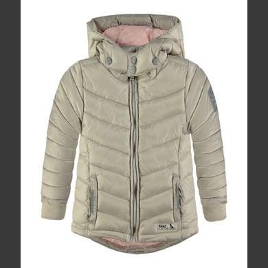 Minigirljacken - Kanz Girls Anorak mit Kapuze silver gray – beige – Gr.Kindermode (2 – 6 Jahre) – Mädchen - Onlineshop Babymarkt