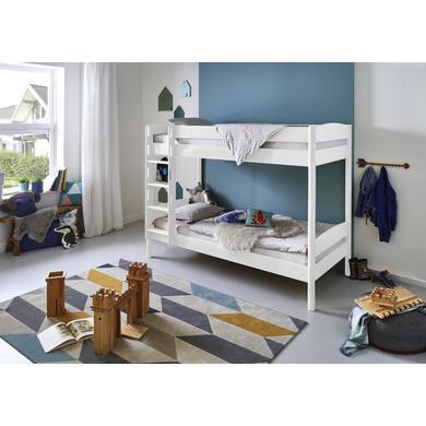 Kinderbetten - Relita Etagenbett Michelle weiß  - Onlineshop Babymarkt