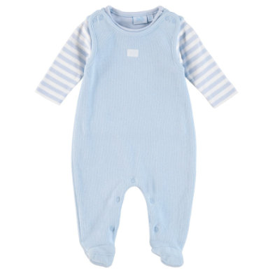 Feetje  Stramplerset blue - blau - Gr.Newborn (0 - 6 Monate) - Unisex