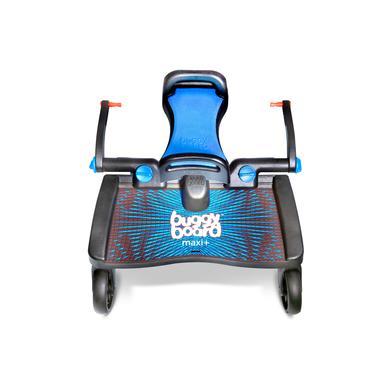 Lascal Buggy Board Maxi + zwart met zitje, blauw