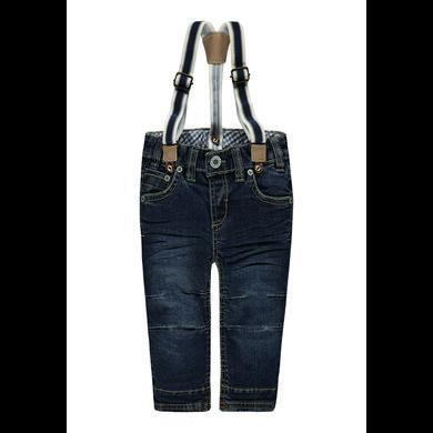 Steiff Boys Jeans mit Hosenträgern blau Gr.Babymode (6 24 Monate) Jungen