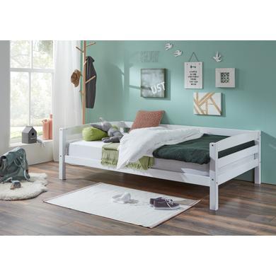 Kinderbetten - Relita Einzelbett Nora 120 x 200 weiß Gr.120x200 cm  - Onlineshop Babymarkt