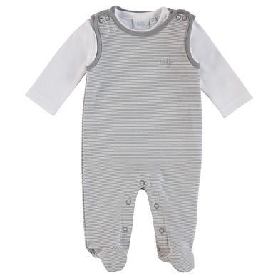 Feetje  Strampler Set grau - Gr.Newborn (0 - 6 Monate)