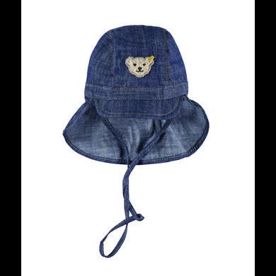 Miniboyaccessoires - Steiff Boys Schirmmütze Jeans - Onlineshop Babymarkt