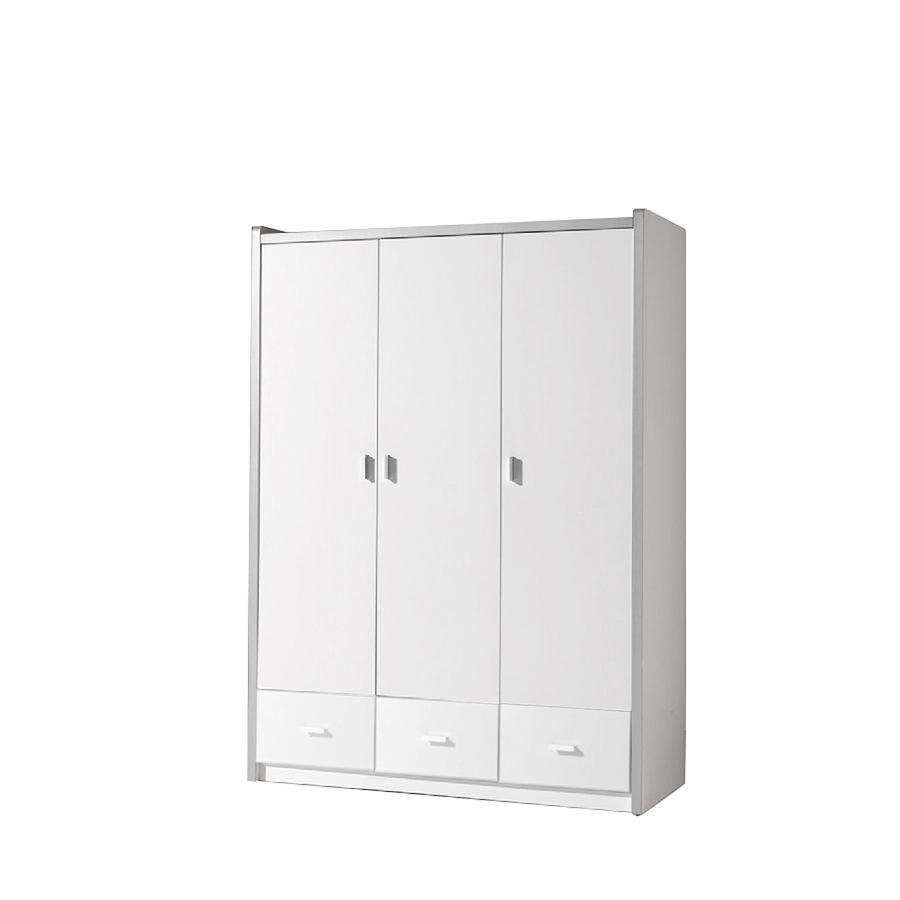 Weiss Kleiderschrank 3 Türig Preisvergleich • Die besten Angebote