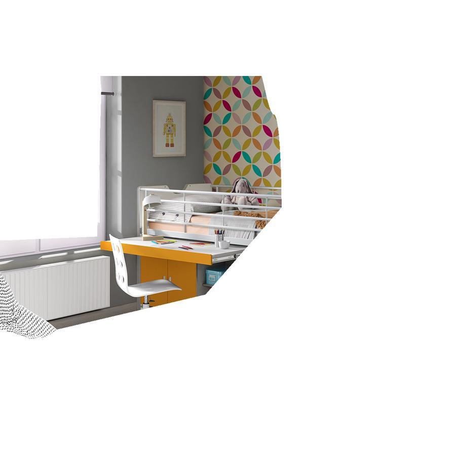 hochbett weiss preisvergleich die besten angebote online kaufen. Black Bedroom Furniture Sets. Home Design Ideas
