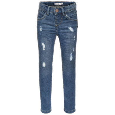 name it Girls Jeans skinny fit medium blue denim blau Gr.Babymode (6 24 Monate) Mädchen