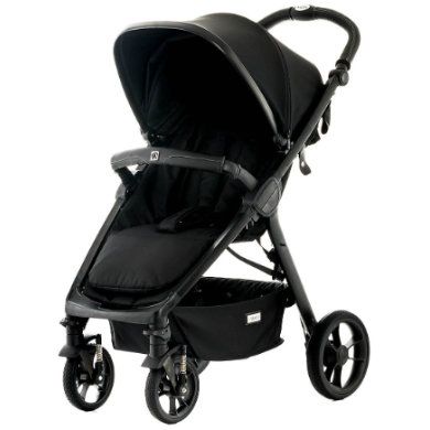 MOON  Sportwagen JET - R City black/fishbone - schwarz