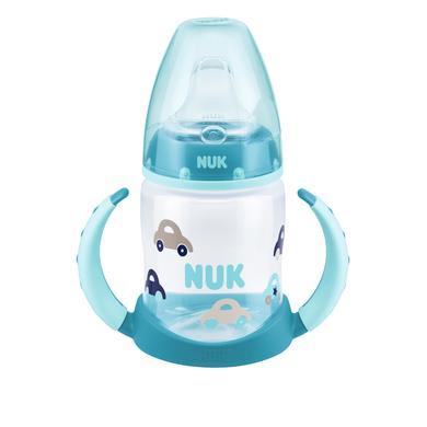 NUK Babyfles met grepen, First Choice Design: Auto, vanaf 6 maanden, 150 ml