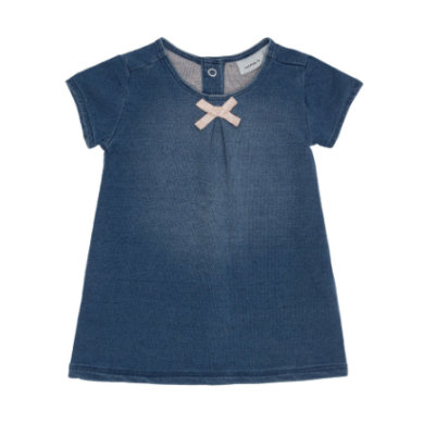 Minigirlroeckekleider - name it Girls Kleid Barbel medium blue denim – blau – Gr.68 – Mädchen - Onlineshop Babymarkt