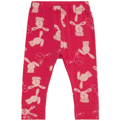 name it Girls Leggings Fekikki raspberry wine rot Gr.Newborn (0 6 Monate) Mädchen
