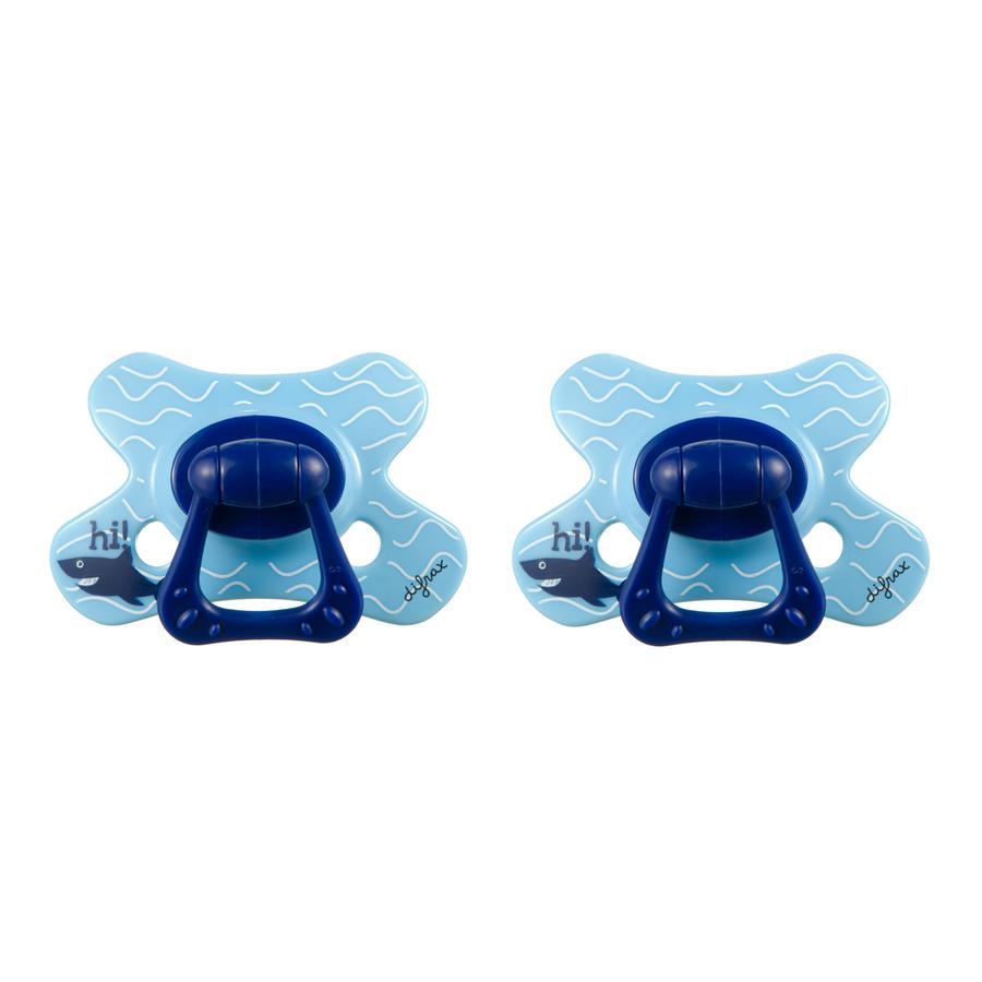 difrax Dental Silikon Schnuller Hi 6+ Monate 2er Pack