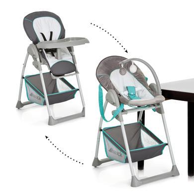 Hochstühle - hauck Hochstuhl Sit'n Relax Hearts grau  - Onlineshop Babymarkt