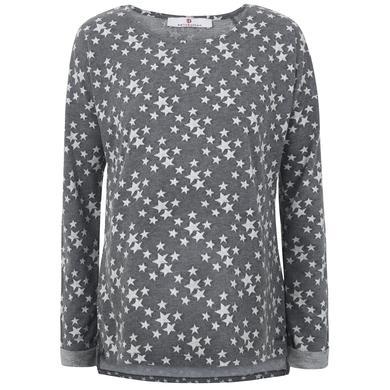 Schwangerschaftsmode für Frauen - bellybutton Umstandssweatshirt, grau mit Sternchen Damen  - Onlineshop Babymarkt