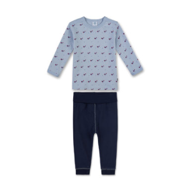 Miniboyswaeschenachtwaesche - Sanetta Boys Schlafanzug dove – blau – Gr.Kindermode (2 – 6 Jahre) – Jungen - Onlineshop Babymarkt