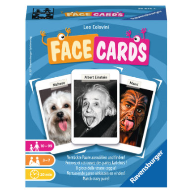 Ravensburger Kartenspiel - Facecards