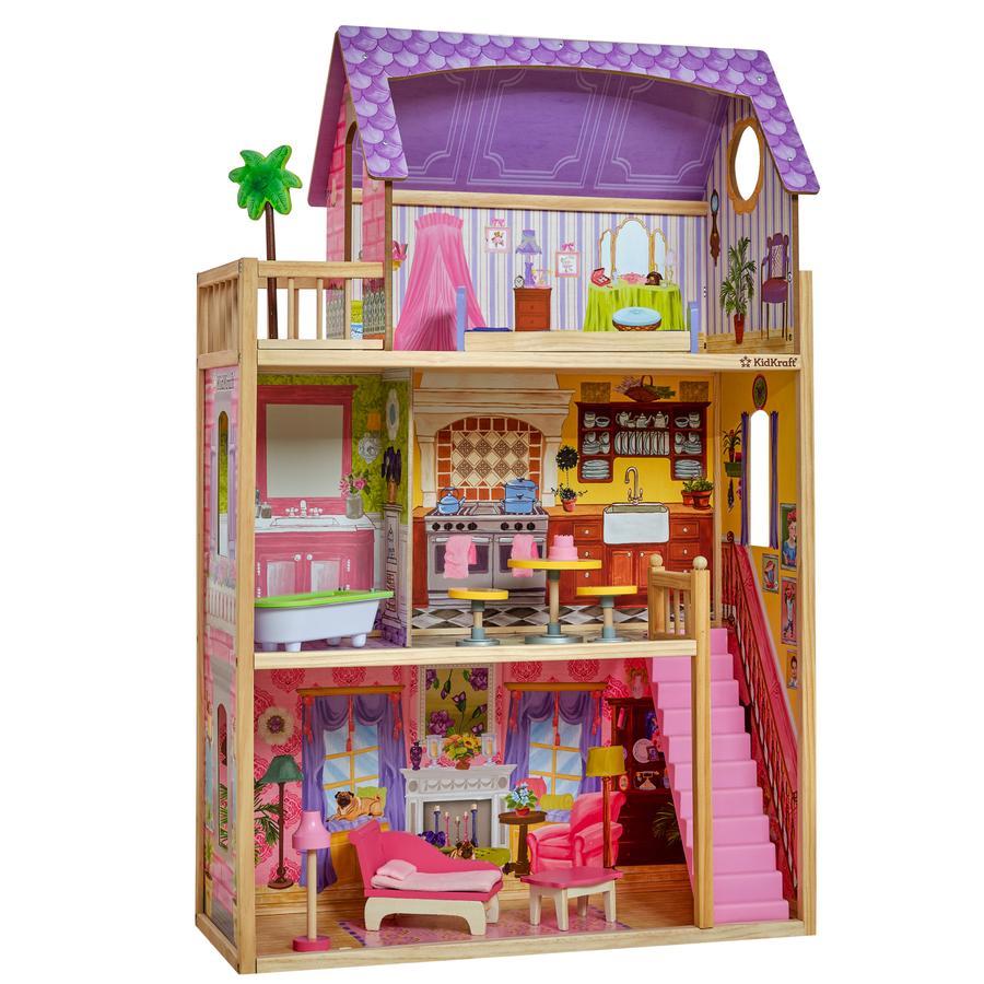 Puppenhaus Miniatur 1:12 Badezimmer Schlafzimmer Zubehör Rasur Spiegel & Kamm Bad