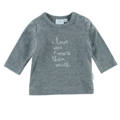 Babyoberteile - Feetje Langarmshirt I love you more Owl Love You astra melee - Onlineshop Babymarkt