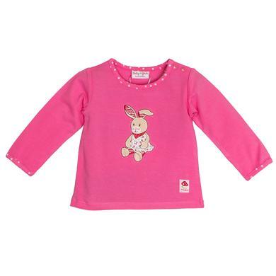 Salt and Pepper Baby Glück Girls Langarmshirt Hase pink rosa pink Gr.56 Mädchen