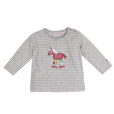 Babyoberteile - SALT AND PEPPER Baby Glück Langarmshirt Pony grau - Onlineshop Babymarkt