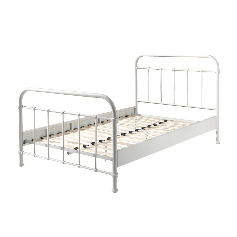 metallbett 200x200 wei great metallbett zypern in farben und gren von dico with metallbett. Black Bedroom Furniture Sets. Home Design Ideas
