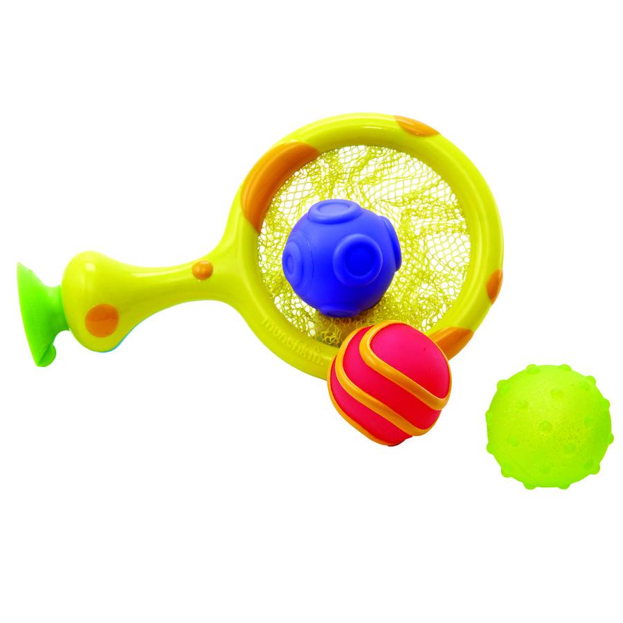munchkin The Scooper Hooper™ 2-in-1 Netzschöpfer und Basketballkorb für die Badewanne