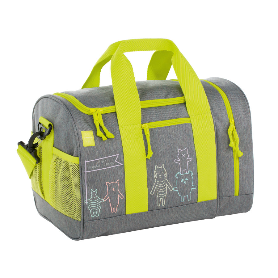 LÄSSIG 4Kids Mini Sportsbag About Friends mélange grey