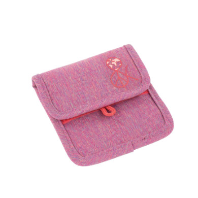 LIKE 4Kids Mini Neck Pouch About Friends - kapička na krk- mélange růžová - růžovápink