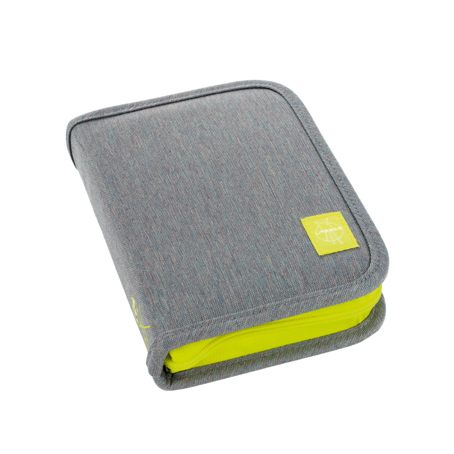 Lässig 4Kids School Pencil Case Big About Friends mélange grey
