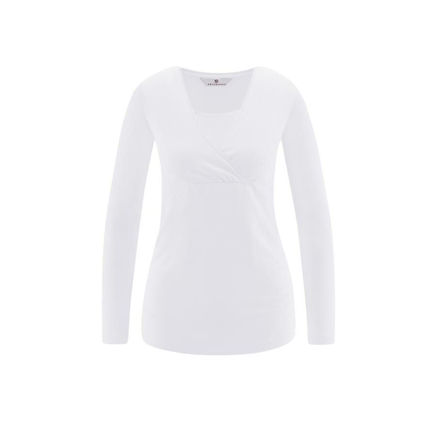 bellybutton T-shirt de grossesse manches longues Timea, blanc
