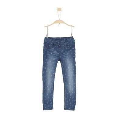 s.Oliver Girls Hose blue denim stretch blau Gr.Kindermode (2 6 Jahre) Mädchen