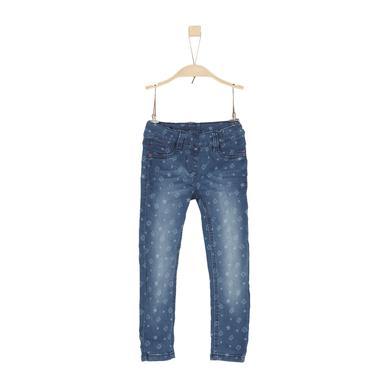 Minigirlhosen - s.Oliver Girls Hose blue denim stretch – blau – Gr.Kindermode (2 – 6 Jahre) – Mädchen - Onlineshop Babymarkt