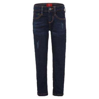 Miniboyhosen - s.Oliver Boys Jeans blue denim stretch - Onlineshop Babymarkt