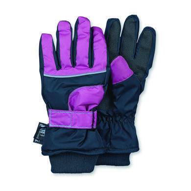 Sterntaler Girls Fingerhandschuh Thinsulate marine lila blau Gr.Kindermode (2 6 Jahre) Mädchen
