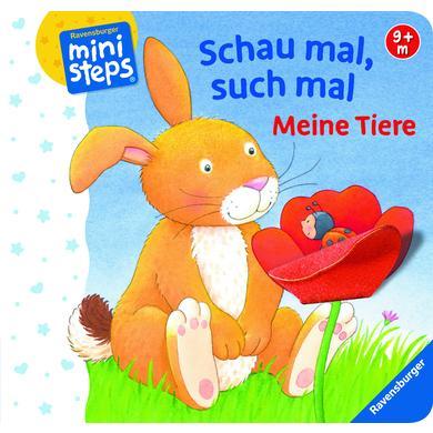 Image of Ravensburger ministeps® - Schau mal, such mal: Meine Tiere