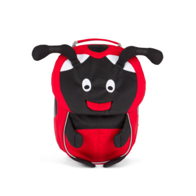 Affenzahn batoh Lilly Ladybird small - Red