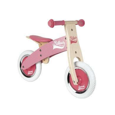 Janod ® Bikloon Mein erstes Laufrad klein, rosa rosa pink