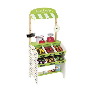 Janod Green Market obchod s příslušenstvím - pestrobarevná
