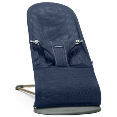 BabyBjörn lehátko Bouncer Bliss Navy Blue Mesh