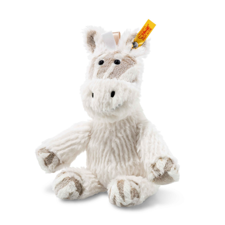 Steiff Soft Cuddly Friends Stripie Zebra, 20 cm