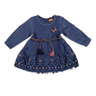 Staccato Girls Kleid blue denim blau Gr.74 Mädchen