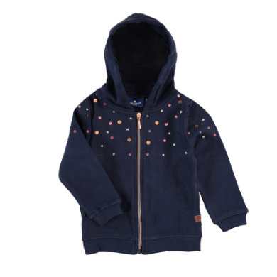 Minigirljacken - Tom Tailor Mini Girls Sweatjacke – blau – Gr.Kindermode (2 – 6 Jahre) – Mädchen - Onlineshop Babymarkt