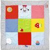 COPPENRATH Krabbeldecke mit Spielelementen 100 x 100 cm BabyGlück