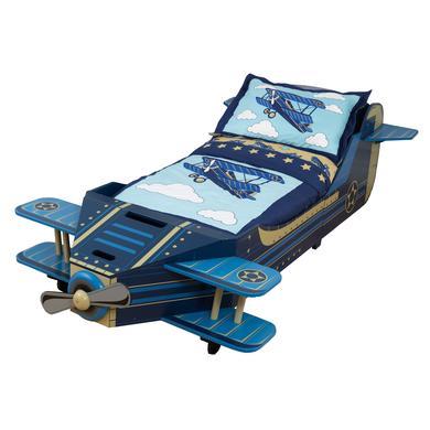 KidKraft ® Kinderbett Flugzeug - blau - Gr.70x1...