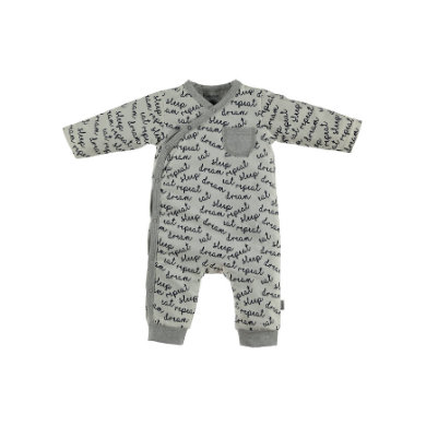 Image of b.e.s.s Spieler Text Grau - weiß - Gr.Newborn (0 - 6 Monate) - Unisex