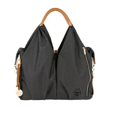Lässig  Green Label Neckline Bag denim black - černá
