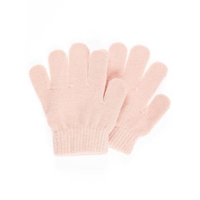 name it Girls Fingerhandschuhe evening sand rosa pink Gr.Babymode (6 24 Monate) Mädchen
