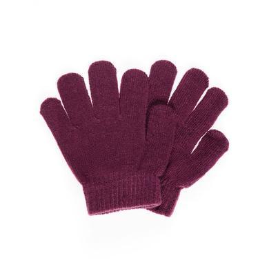 name it Girls Fingerhandschuhe prune purple rot Gr.Babymode (6 24 Monate) Mädchen